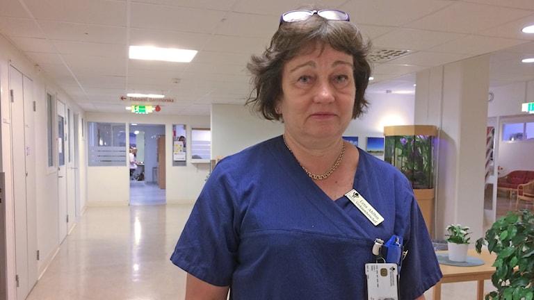 Lena Ahlbin, verksamhetschef på kvinnokliniken i Västerås.