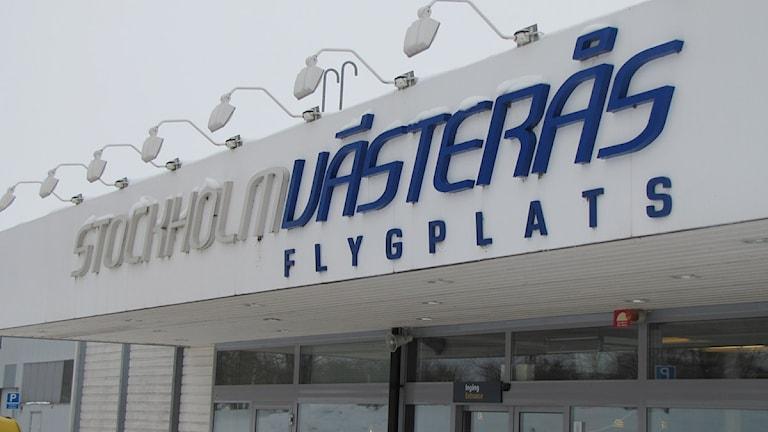 Västerås flygplats. Foto: Ida Nilsson/SR Västmanland.