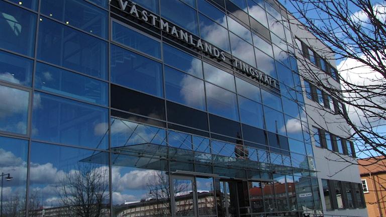 Västmanlands Tingsrätt i Västerås.