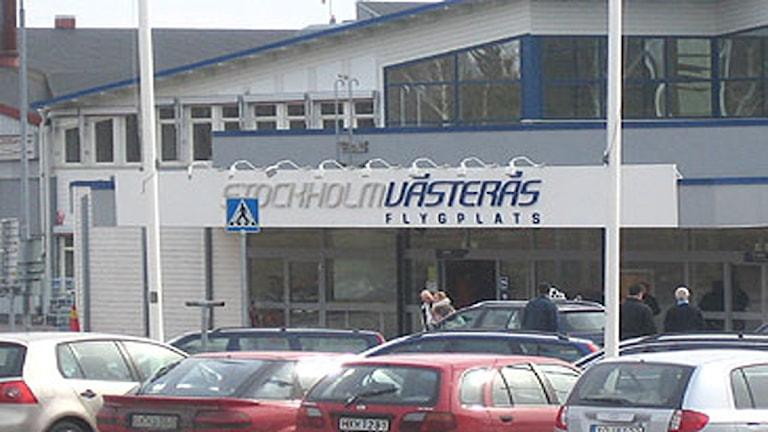Västerås flygplats. Foto: SR Västmanland