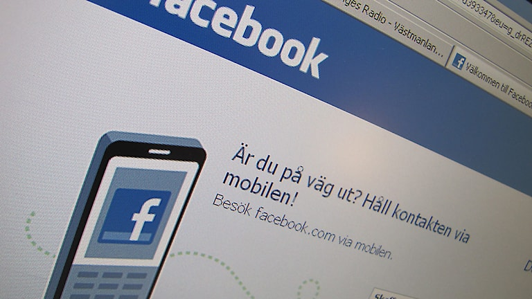 Facebook login.