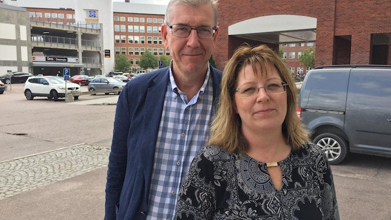 Tommy Levinsson och Vicky Skure Eriksson