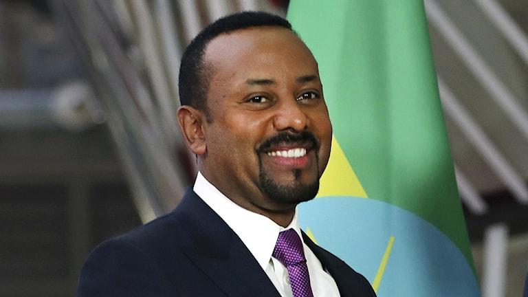 Etiopiens premiärminister Abiy Ahmed,