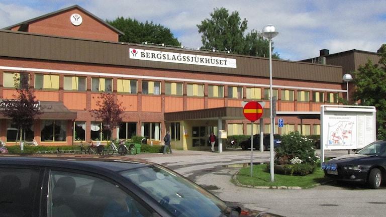 Bergslagssjukhuset i Fagersta. Foto: Kristin Axinge Jaslin/SR Västmanland