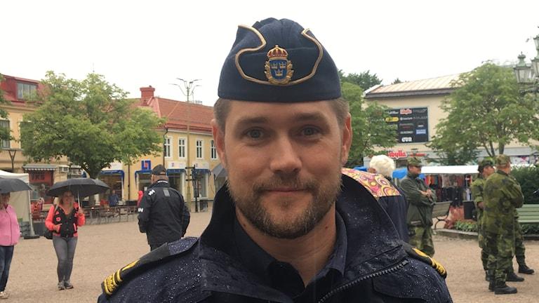 Tommy Alriksson arbetar som polis i Sala.