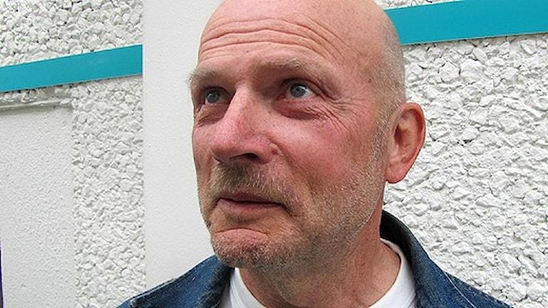 Börje Brandhill, talesperson för Sverigedemokraterna i Västmanland