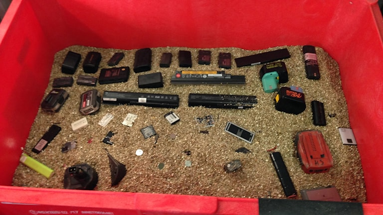 Återvinning batterier