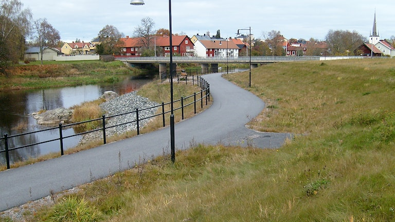 Åbrinken i Arboga. Arkivbild: Kennet Lindquist/SR Västmanland.