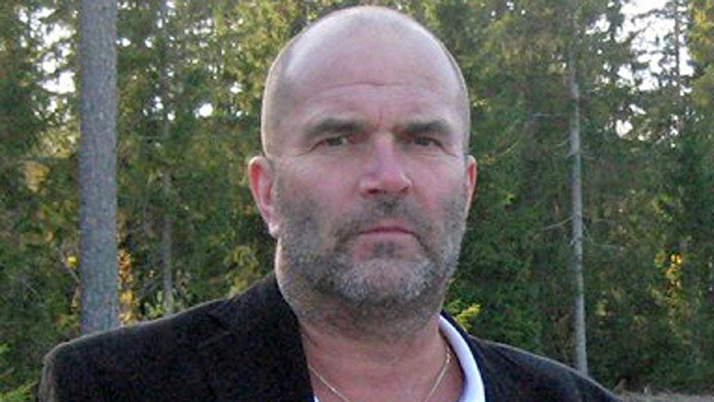 Harold Nilsson, chef för Norra Västmanlands kommunalteknikförbund, NVK. Foto: Marcus Carlsson/SR.