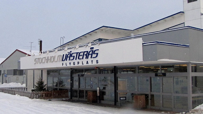 Entré till Västerås flygplats.