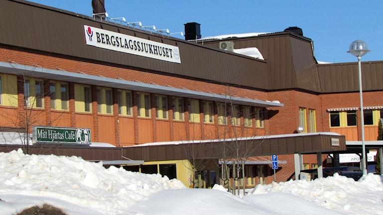 Bergslagssjukhuset i Fagersta. Foto: Marcus Carlsson.