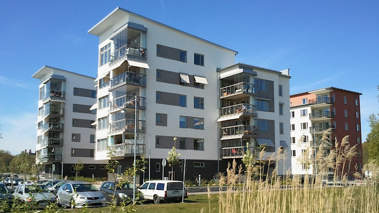 Byggnader vid Öster Mälarstrand 2011 / Foto: Michael Gawell SR Västmanland