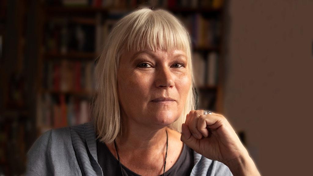 Journalisten och författaren Anna-Lena Lodenius.