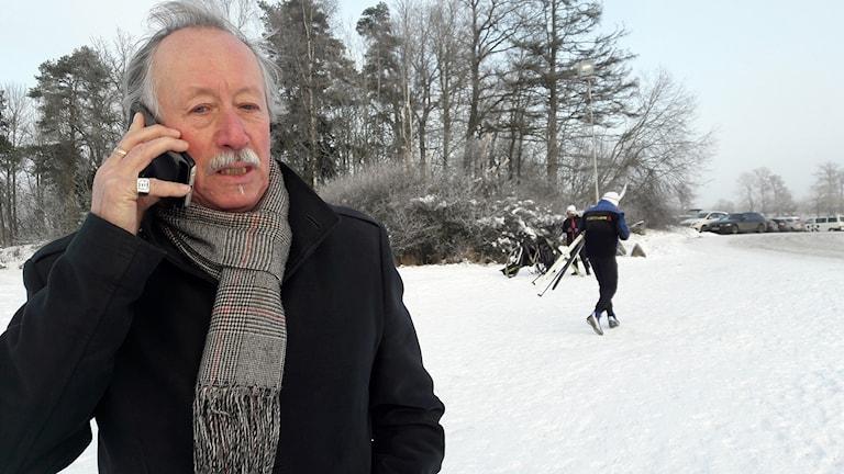 Hans Stergel, ordförande i nämnden för idrott och friluftsliv.