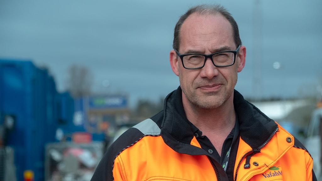 Carl Doverfelt är säkerhetsskyddchef på VAFAB.