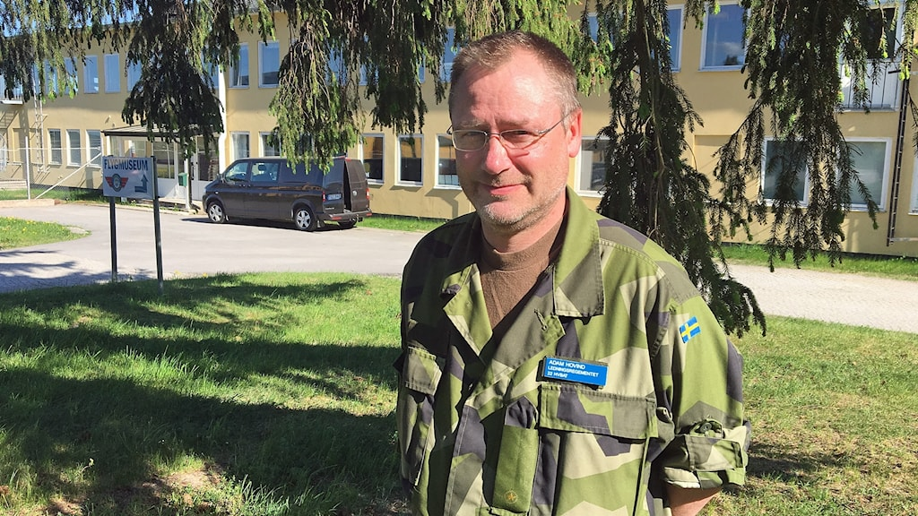 Adam Hovind, stabschef för 22:a Hemvärnsbataljonen.