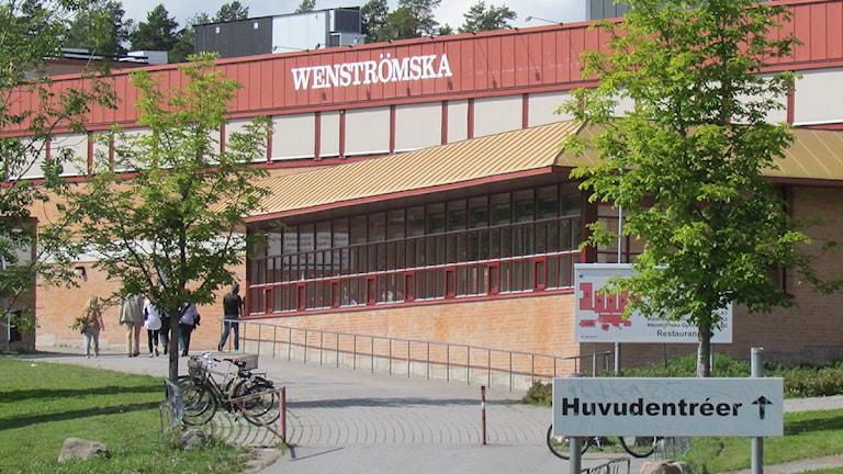 Wenströmska gymnasiet i Västerås. Foto: Marcus Carlsson/SR Västmanland