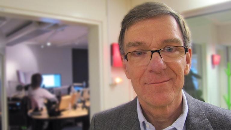 Jan Smedjegård, smittskyddsläkare. Foto: Martin Vare/Sveriges Radio.