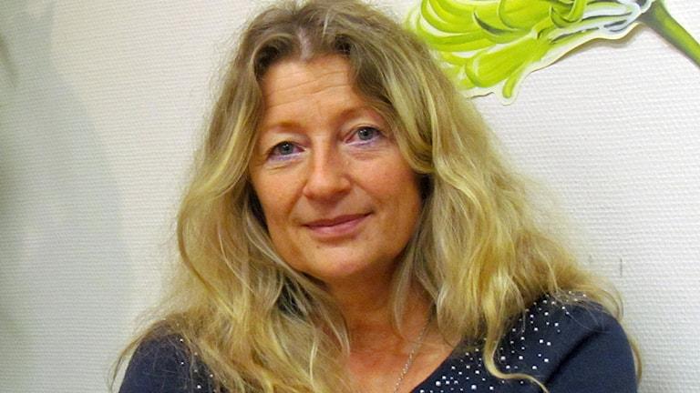 Jani Stjernström, ordförande Vårdförbundet i Västmanland. Foto: Marcus Carlsson/SR.