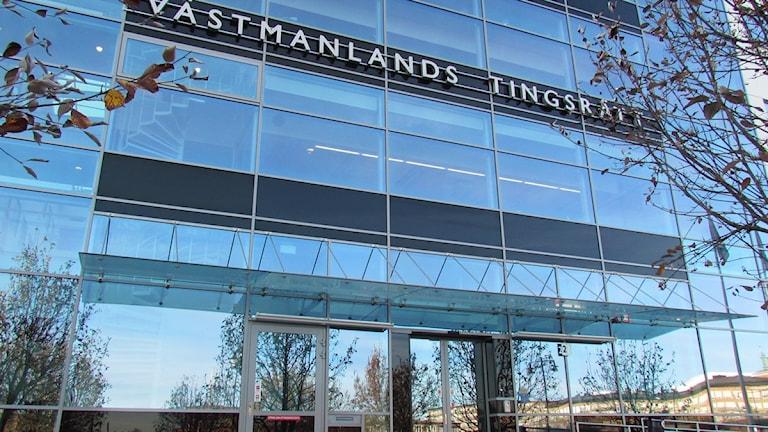 Fasadbild på Västmanlands Tingsrätt i Västerås