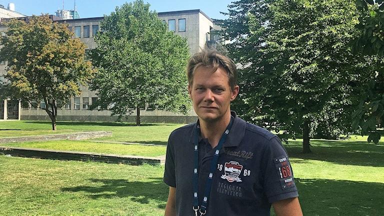 Johan Ahlström, riskingenjör Västerås stad.