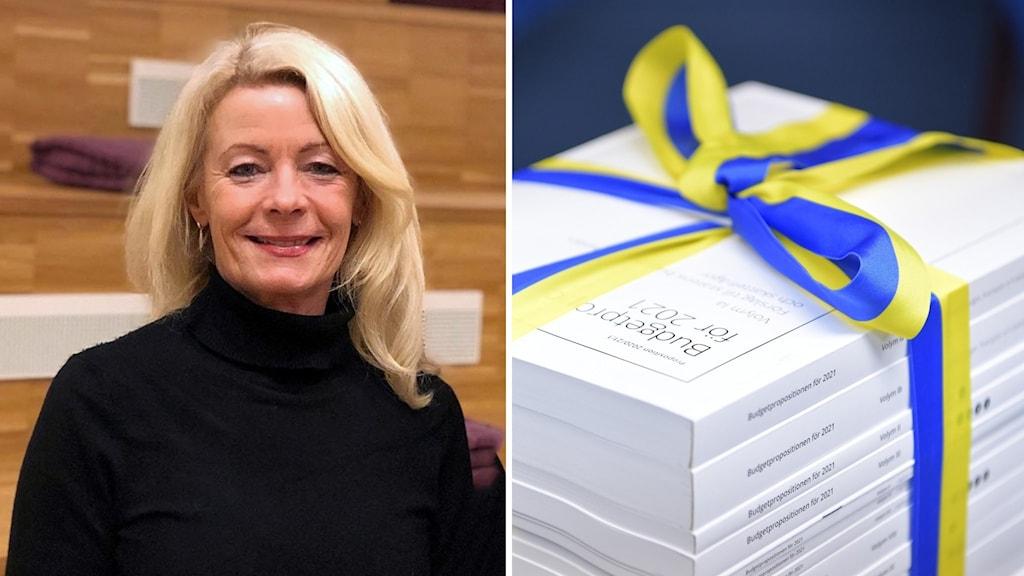 Riksdagsledamoten Pia Nilsson (S) och budgetpropositionen för 2021.