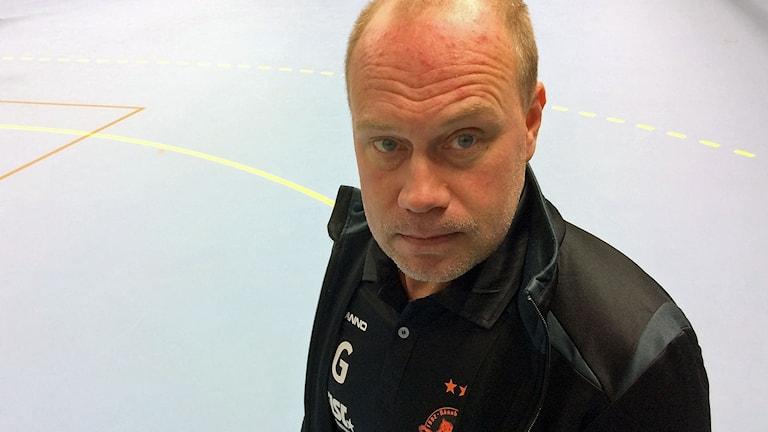 Rönnbys tränare Jimmy Gunnstedt