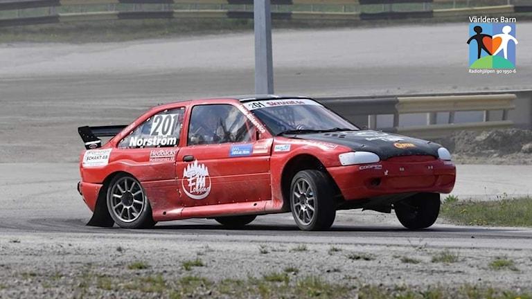 Rallycross med Niclas Härdevik Norström.