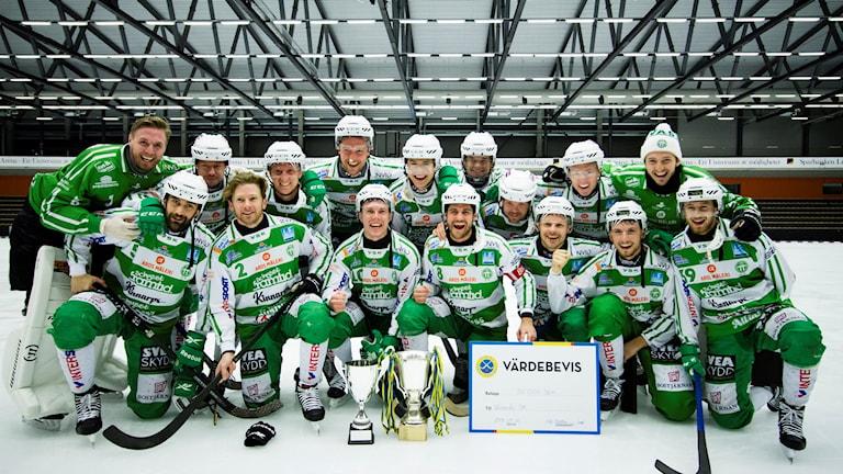 VSK Bandy vann Svenska cupen 2018.