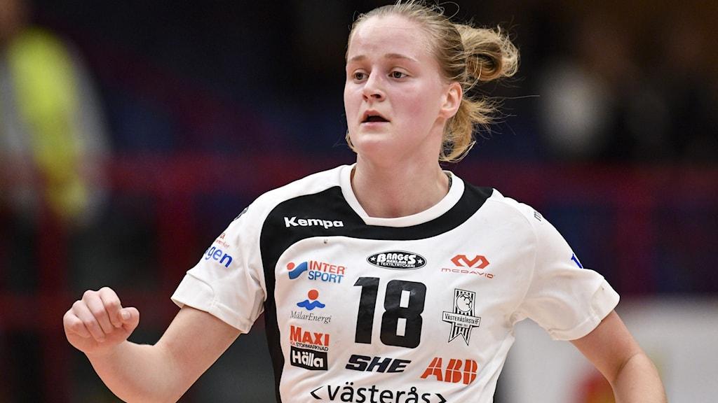 Emma Aarnio i Västerås Irsta. Foto: Johan Nilsson/TT.
