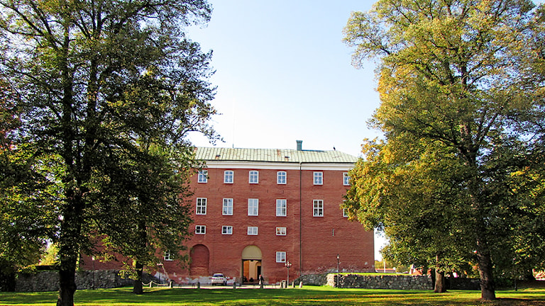 Västerås slott. Foto: Kristin Axinge Jaslin/SR