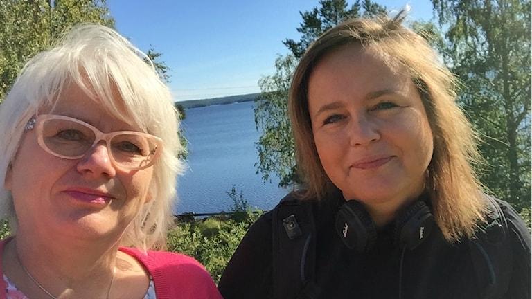 Raija Edvinsson och Liselotte Mellesmo.