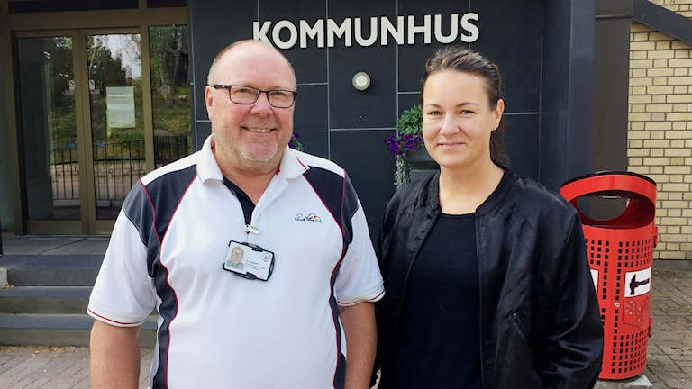 Bo Häggkvist och Lina Marklund.