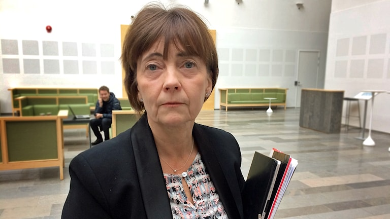 Åklagare Birgitta Fernlund.