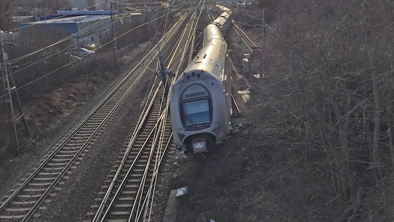 Urspårat tåg Västerås