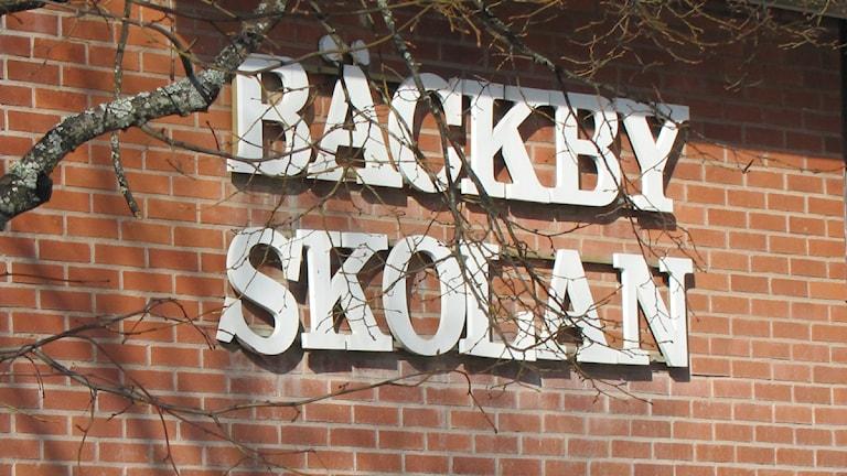 Bäckbyskolan i Västerås. Foto: Marcus Carlsson SR