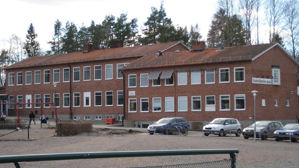 Västerfärnebo skola. Foto: Linnéa Pettersson/SR