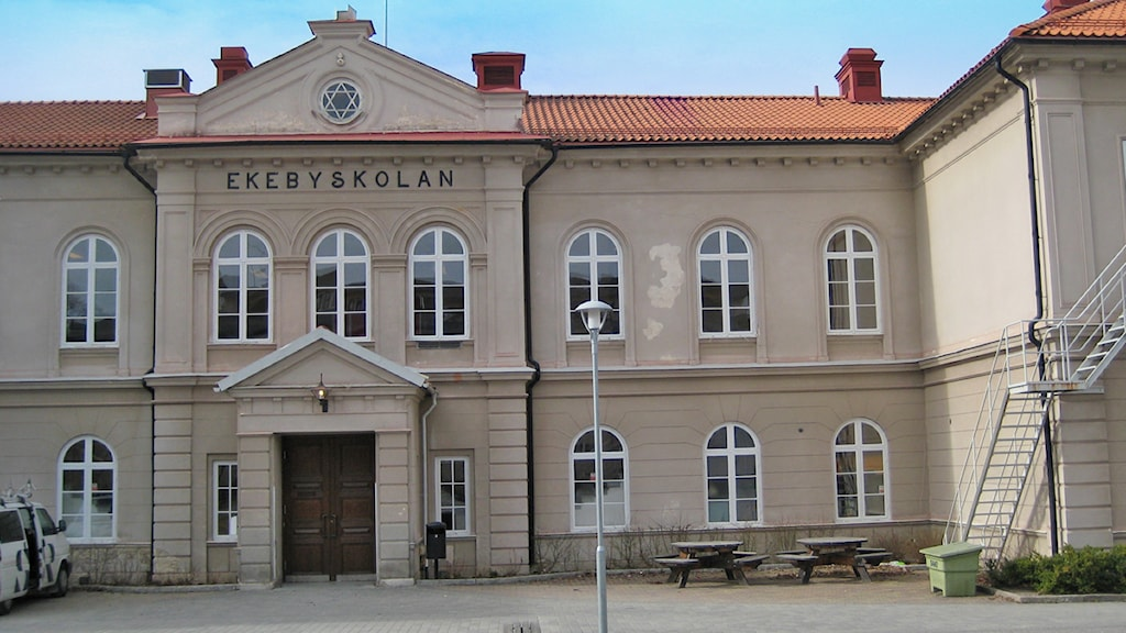Ekebyskolan Sala / Foto: Linnéa Pettersson SR
