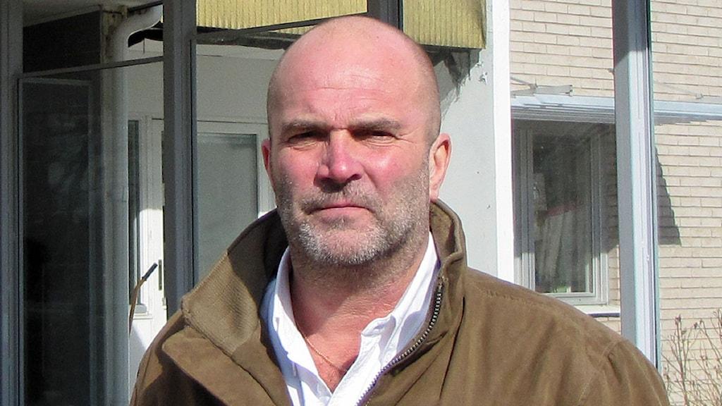 Harold Nilsson, förbundsdirektör Norra Västmanlands Kommunalteknikförbund, NVK. Foto: Monica Elfström/Sveriges Radio.