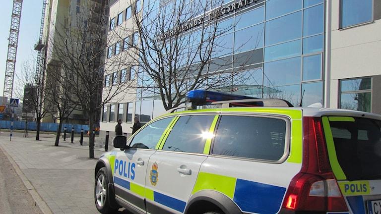 Rättegång  i Tingsrätten Foto: Marcus Carlsson/SR