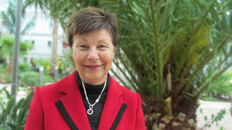 Ulla Persson, socialdemokrat. / Foto: SR