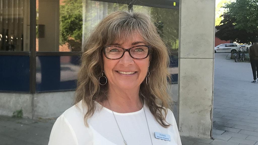 Susanne Johansson, kontorschef på Fonus i Västerås