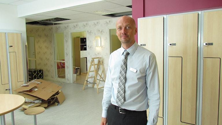 Peter Ledin, rektor på Internationella Engelska Skolan i Västerås.