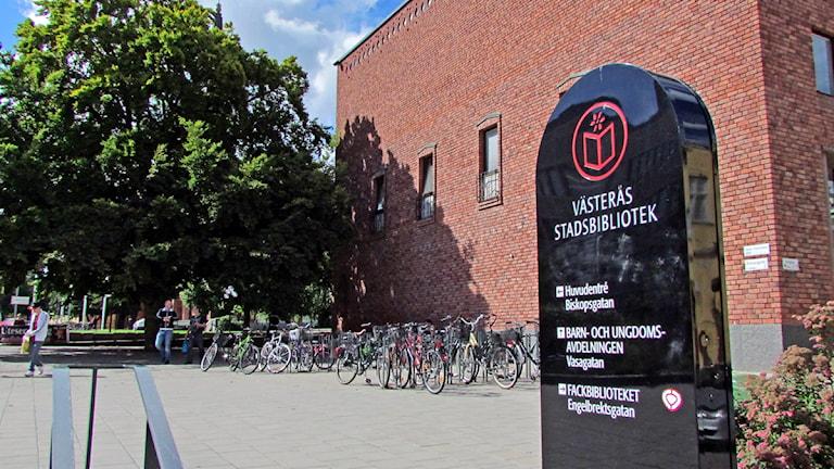 Västerås Stadsbibliotek. Foto: Samira Jonsson/Sveriges Radio.