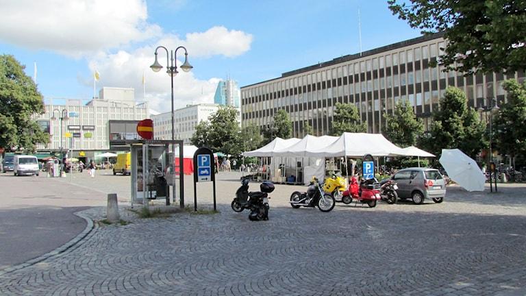 Stora torget i Västerås.
