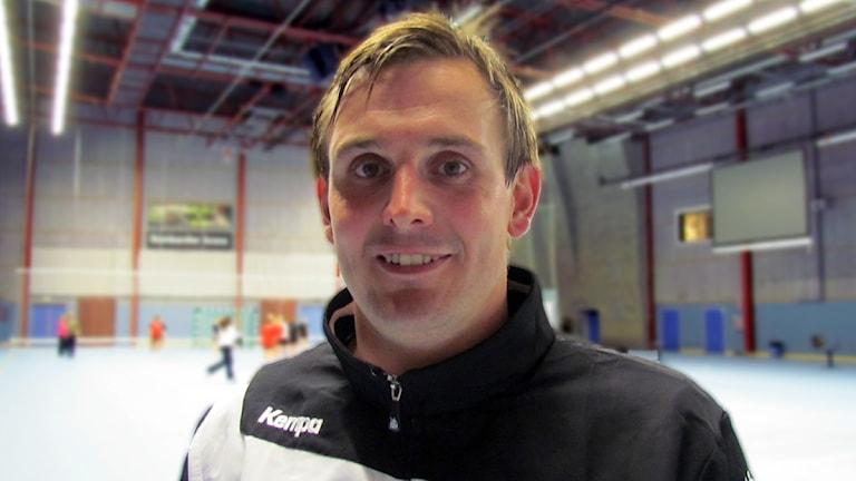Martin Boquist tränare i VästeråsIrsta / Foto: Hasse Sjöström SR