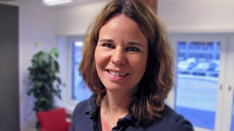 Länsidrottschef Maria Engelfeldt / Foto: Liselotte Karlsson SR