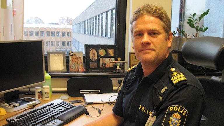 Mikael Eriksson, spaningsledare på polisen i Västmanland