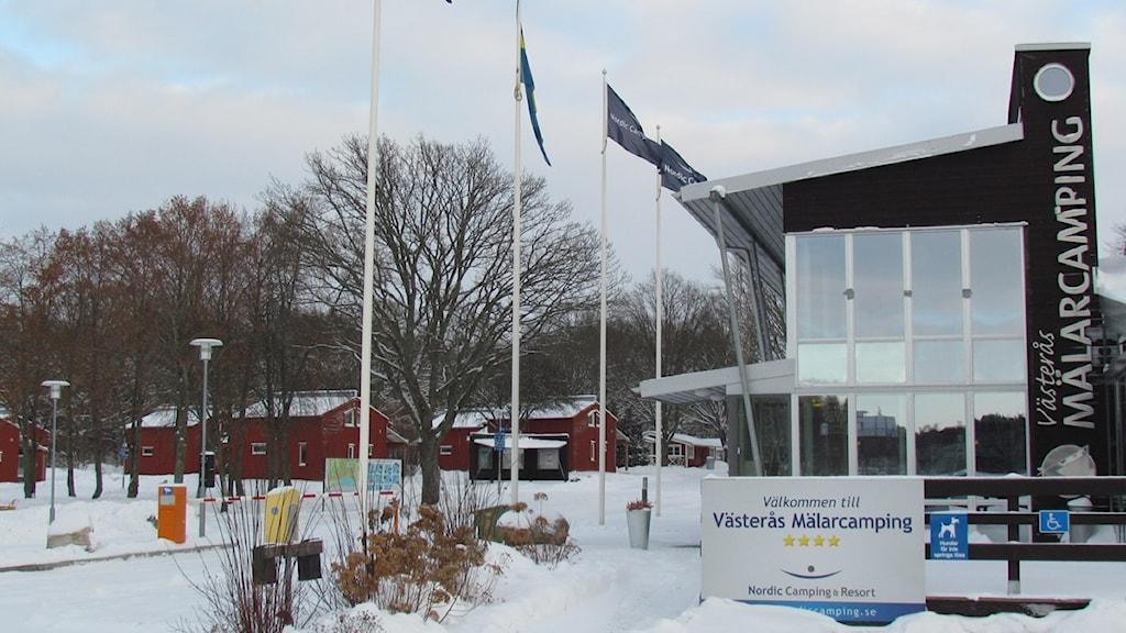 Västerås Mälarcamping. Foto: Patrik Åström/Sveriges Radio.