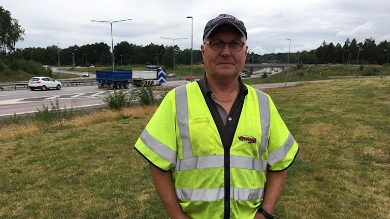 Kent Andersson på företaget Vemmab i Västerås.